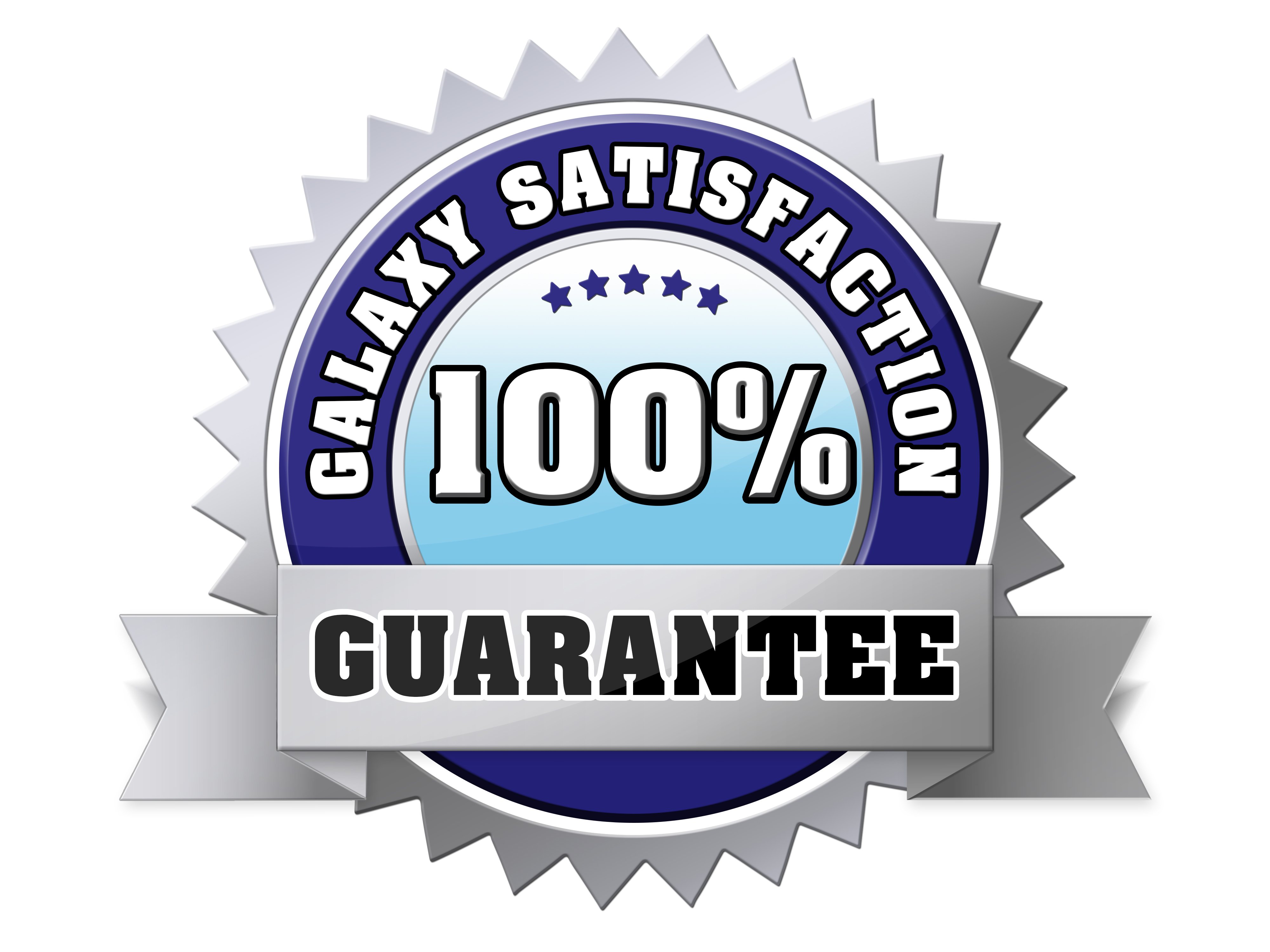 Galaxy Kayaks Satisfaction Guarantee